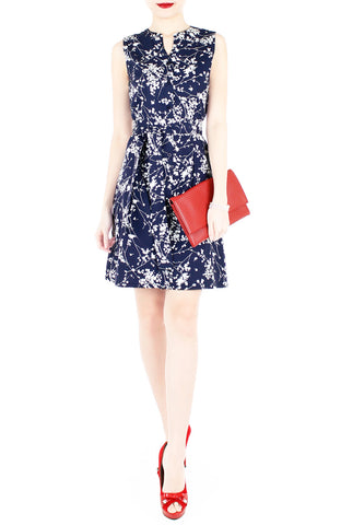 products/Japanese_Plum_Blossoms_A-Line_Button_Down_Dress_Midnight_Blue_-2.jpg