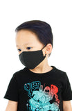 KIDS Essential Pure Cotton Face Mask in Noir Black