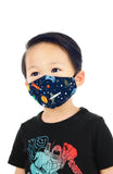 KIDS Galaxy Discovery Pure Cotton Face Mask