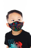 KIDS Tribal Neon Pure Cotton Face Mask