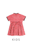 KIDS Vintage Elegant Silk Road Cheongsam Dress