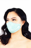 Ladylike Lace Pure Cotton Face Mask - Tiffany