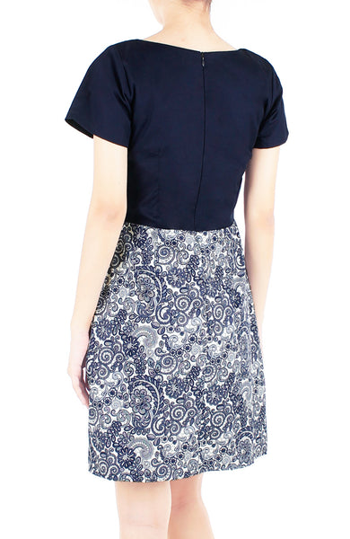 Ladylike Lace Vera Dress with Short Sleeves