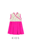 KIDS Mystical Dove & Sakura Cheongsam Dress