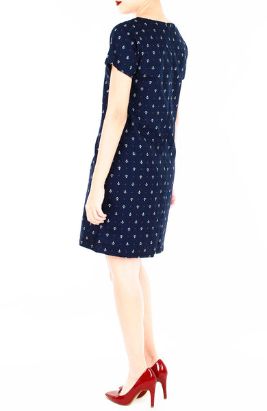 Notable Nautical Lily Shift Dress