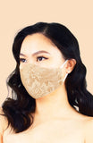 MASQUERADE Luxe Lace Mask - Natural Beauty