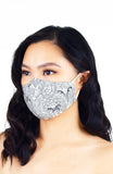 Passionate Paisley Pure Cotton Face Mask