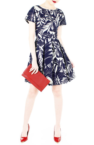 products/Poignant_Palm_Flare_Dress_with_Short_Sleeves_Midnight_Blue-3.jpg