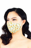 Prairie Sunflowers Pure Cotton Face Mask