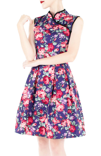 Private Rose Garden Cheongsam Dress