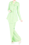 Profound Pizzazz Modern Kebaya - Lime Green