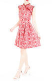 Prosperity Sakura Lace Cheongsam Dress