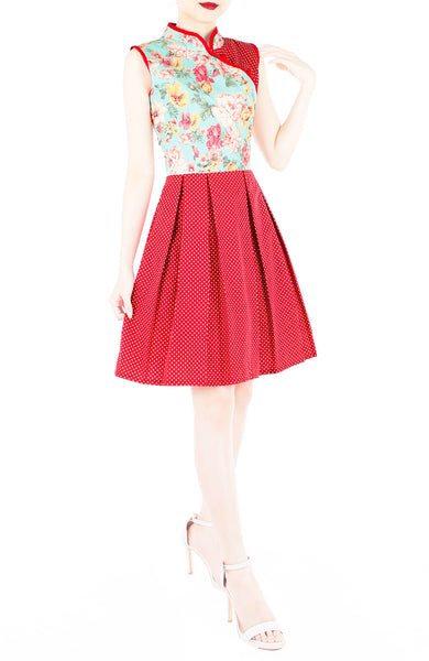 Rose, Rose, I Love You! Cheongsam Dress