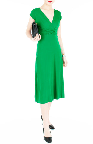 products/Royal-Engagement-Dress-with-Short-Sleeves-Midi-Length-Emerald-Green-2.jpg