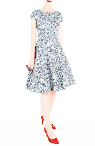 Serene Dream Flare Tea Dress