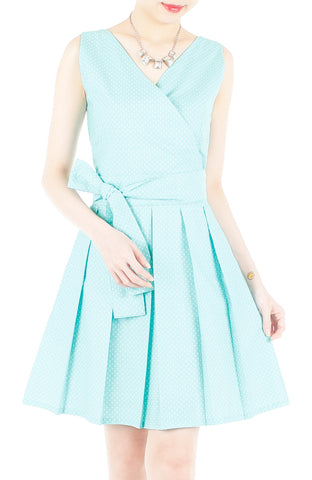 products/Snowflake_Spots_Two-way_Flare_Dress_Tiffany_Blue-1.jpg