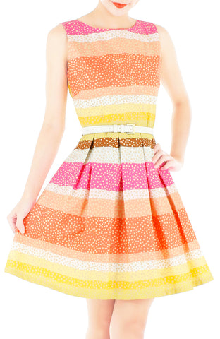 products/Snowflakes_on_a_Christmas_Sunset_Flare_Dress-1.jpg