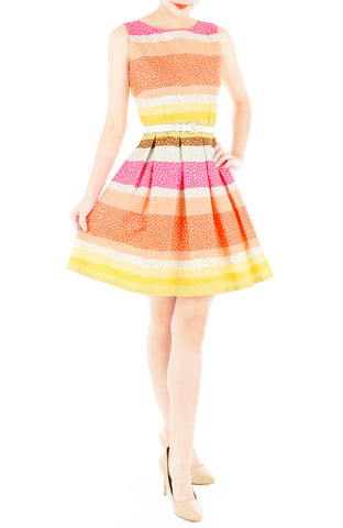 products/Snowflakes_on_a_Christmas_Sunset_Flare_Dress-2.jpg