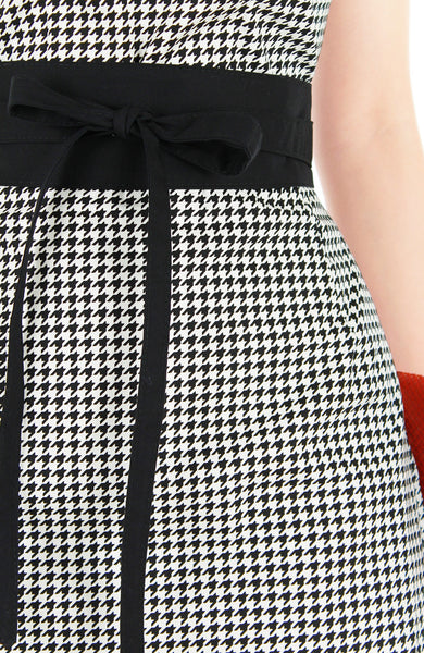 Sophisticated Houndstooth Stella Dress