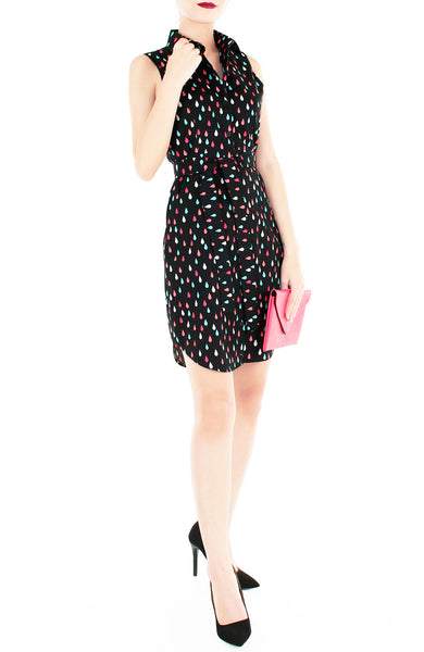 Splashing Good Time Shirtdress