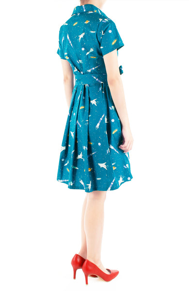 Stargazing Weekend Anna Shirtdress