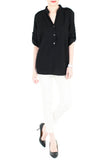 Stay Classic Utility Blouse - Black