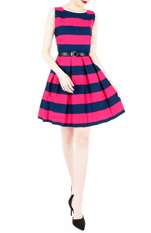 products/Stripe_it_Lucky_Flare_Dress_-_Fuchsia-2_21a20258-5495-43e2-81eb-1e6b2fe5e033.jpg