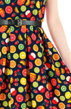 The Apple of My Eye Flare Dress