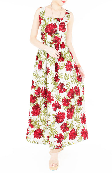 Tropical All the Way Maxi Dress