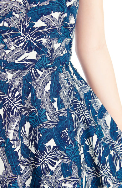 Tropical Thoughts Flare Midi Dress