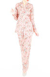 Vintage Heirloom Roses Kebaya - Blush Pink