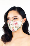 Vintage Rosette Pure Cotton Face Mask
