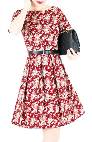 products/Vintage_Blossoms_in_Mahogany_Flare_Dress_with_Short_Sleeves-1.jpg
