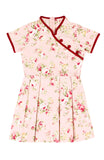 Vintage Imperial Garden Cheongsam Dress