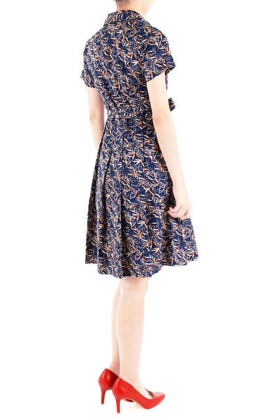 Zen Japanese Bamboo Anna Shirtdress