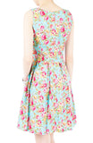 A Sea of Roses Flare Dress