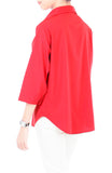 City Pursuit Blouse - Lipstick Red