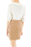 Fawn Brown Bandeau Skirt