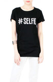"""I Take A Great Selfie"" T-Shirt - Black"