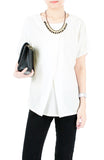 Midday Coffee Break Blouse - White