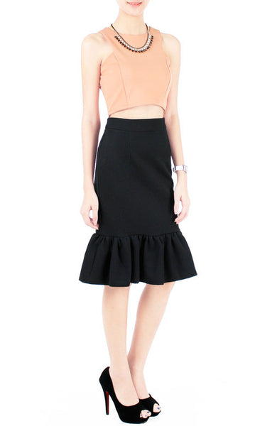 Nightwalker Trumpet Skirt