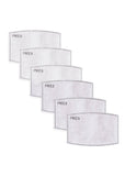 PM 2.5 filters for cotton masks - Pack of 6