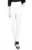 Savvy Business Pleated Trousers - White