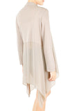 Soft Breeze Long Knit Cardigan - Sand