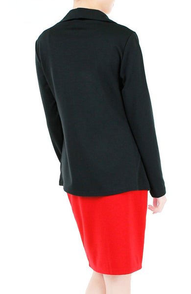 Speed Networking Blazer Cardi - Black