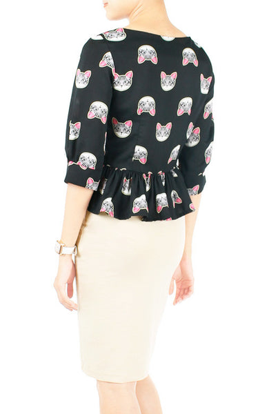 The Magic Meow-Ment Blouse