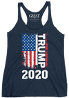 Trump 2020 American Flag (Women's) - Great American Era, LLC
