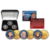 Trump, Melania, Pence 24K Collector Bundle - Great American Era, LLC