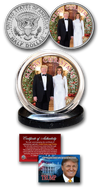 Donald and Melania Trump Christmas Coin - Great American Era, LLC