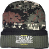 Green Camo Trump Beanie - Great American Era, LLC